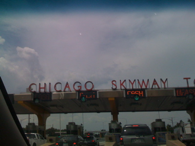 Entering-chicago