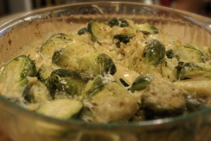Creamybrusselssprouts