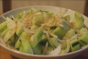 Koreancucumbersalad